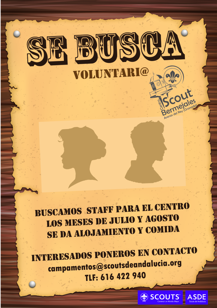 cartel de staff