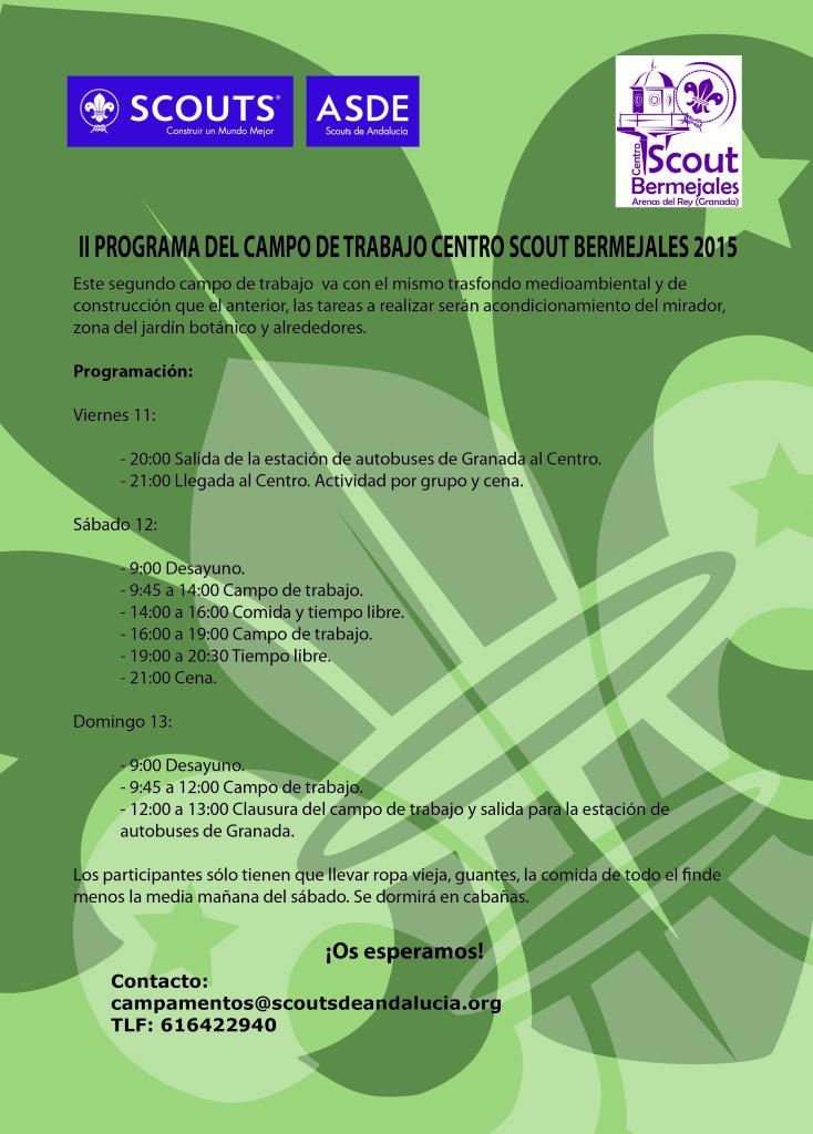 programa campo de trabajo12-13SEP