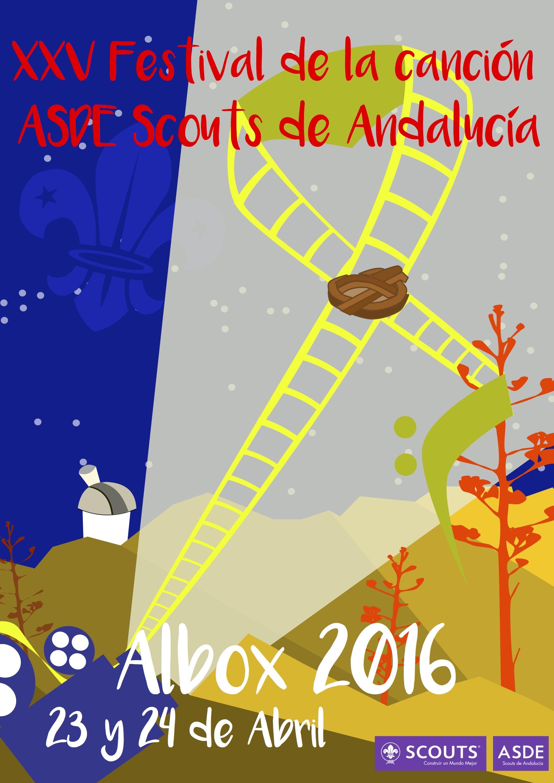 XXV Festival de la canción ASDE Scouts de Andalucía